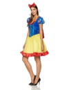 Disney Deluxe Sexy Snow White Costume Dress Adult Small 4-6 -
