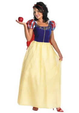 Plus Size Deluxe Snow White Fancy dress costume X-Large -