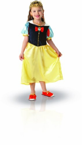 Rubie's 3884489 - Kostüm für Kinder - Snow White Costume Box Set, S -