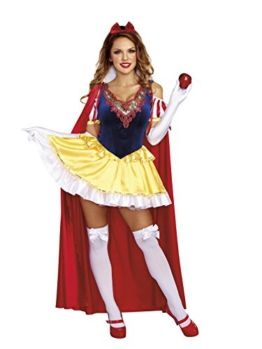 Sassy Snow White Women's Fancy dress costume Large -